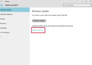 Windows 10 using bandwidth P2P updates